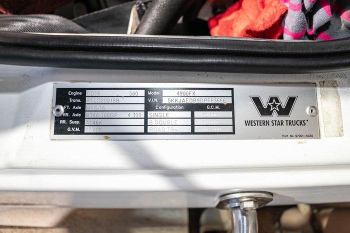 2013 WESTERN STAR 4964 FXT null null WHITE
