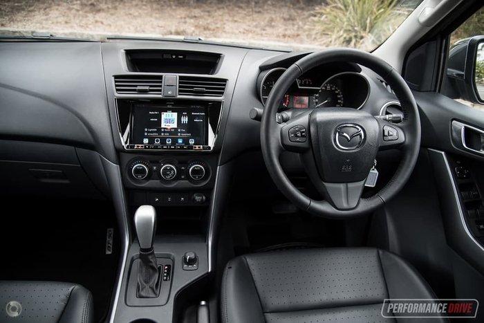 2019 Mazda BT-50 GT UR 4X4 Dual Range Silver