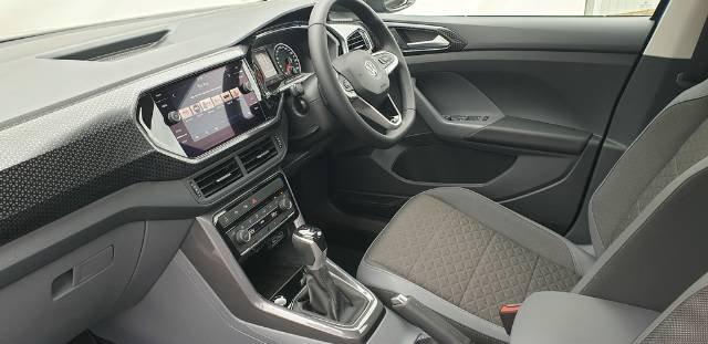2020 Volkswagen T-Cross 85TSI Style C1 MY20 PURE WHITE
