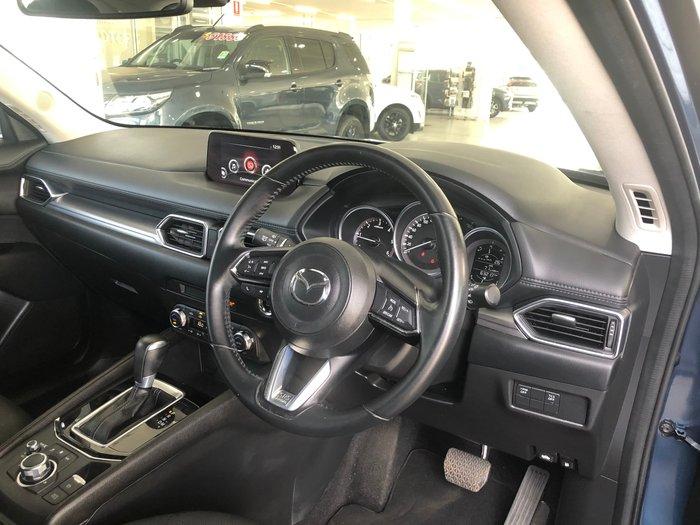 2017 Mazda CX-5 Maxx Sport KF Series 4X4 On Demand Blue