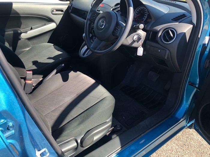 2012 Mazda 2 Neo DE Series 2 MY12 Blue