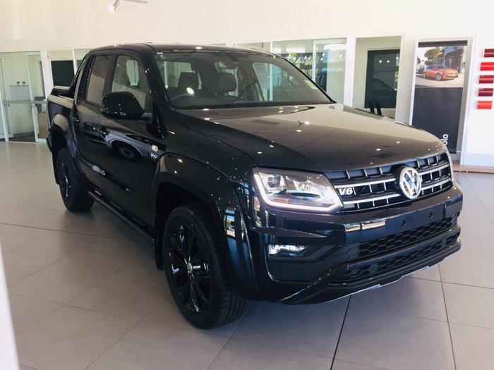 2019 Volkswagen Amarok TDI580 Highline Black 2H MY20 4X4 Constant Black