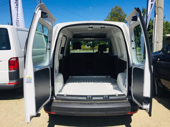 2019 Volkswagen Caddy TDI250 2KN MY20 White