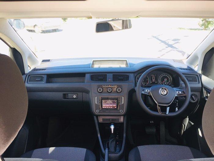 2019 Volkswagen Caddy TDI250 2KN MY20 White