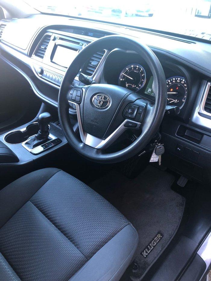 2015 Toyota Kluger GX GSU55R Four Wheel Drive Grey