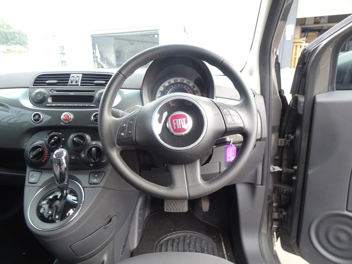 2013 Fiat 500 Pop Series 1 Grey