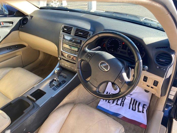 2008 Lexus IS IS250 Prestige GSE20R Blue