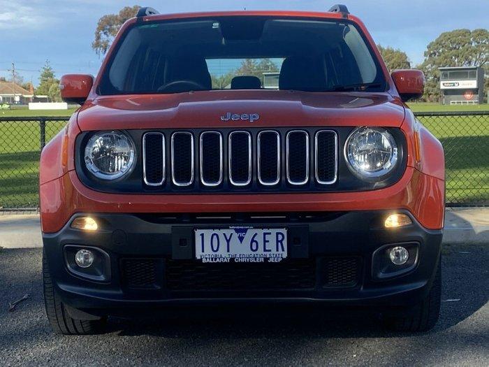 2017 Jeep Renegade Longitude BU MY17 OMAHA ORANGE