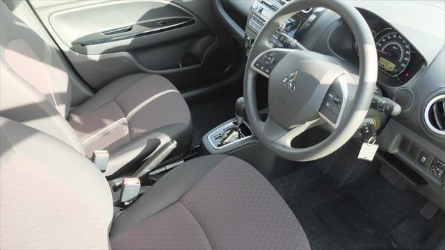 2019 MITSUBISHI Mirage LS LA Mirage LS 1.2L CVT Hatchback WHITE