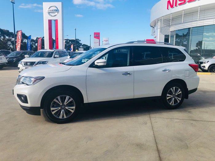 2019 Nissan Pathfinder ST+ R52 Series III MY19 White