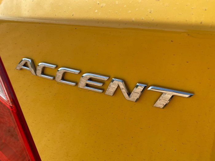 2019 Hyundai Accent Sport RB6 MY19 Yellow