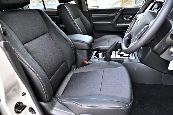 2019 Mitsubishi Pajero GLS NX MY20 4X4 Dual Range White