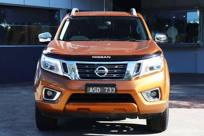 2017 Nissan Navara ST-X D23 Series 2 4X4 Dual Range Orange