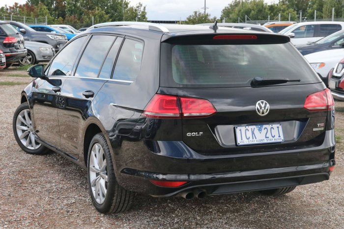 2014 Volkswagen Golf 103TSI Highline 7 MY14 Black