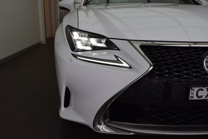 2014 Lexus RC RC350 F Sport GSC10R White
