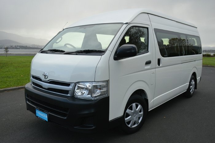 2012 Toyota Hiace Commuter KDH223R MY11 WHITE