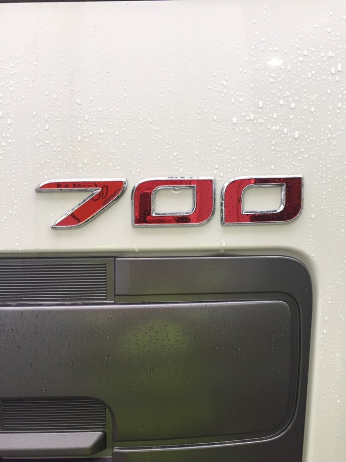 2019 HINO 700 SERIES FS 2844 PROSHIFT 16 null null White