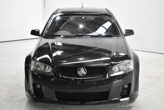2010 Holden Ute SS VE MY10 Black