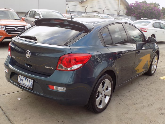 2013 Holden Cruze Equipe JH Series II MY13 Blue