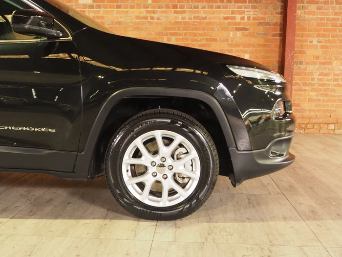 2016 Jeep Cherokee Longitude KL MY16 4X4 On Demand Black