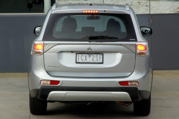 2013 Mitsubishi Outlander ES ZJ MY14 4X4 On Demand Silver