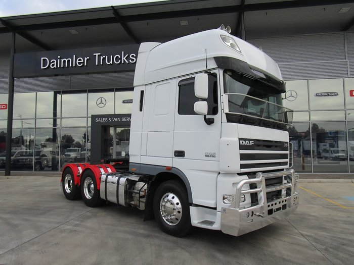 2014 DAF XF 105 SERIES ONLY 400,000KLMS null null WHITE