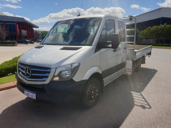 2016 MERCEDES-BENZ SPRINTER TRAYTOP null null GREY