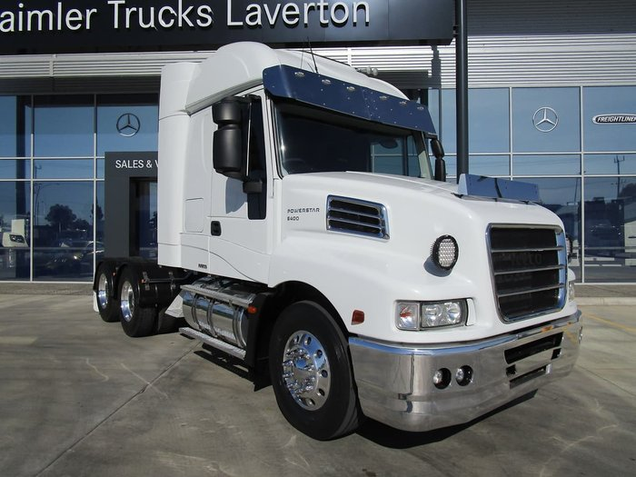 2013 IVECO POWERSTAR 6400 null null WHITE