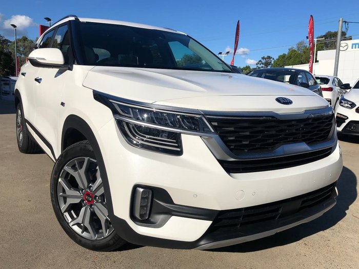 2020 Kia Seltos GT-Line SP2 MY20 4X4 On Demand White