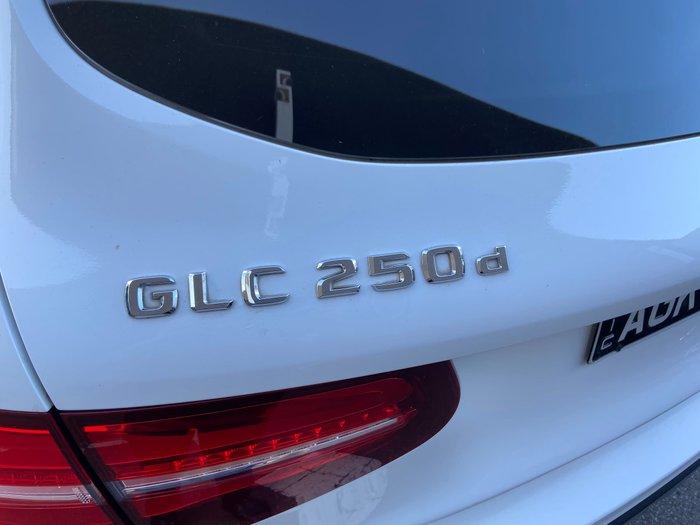 2015 Mercedes-Benz GLC-Class GLC220 d X253 Four Wheel Drive White