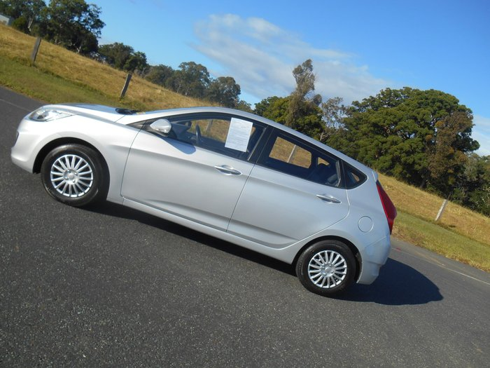 2014 Hyundai Accent Active RB2 MY15 Silver
