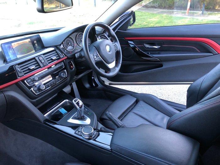 2015 BMW 4 Series 420i Sport Line F32 White