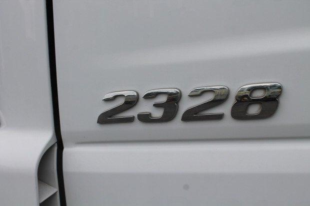 2005 Mercedes Benz 2328 Atego Tautliner White
