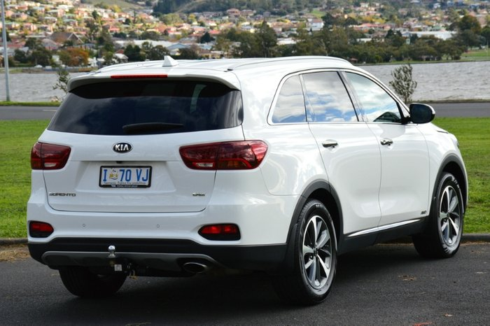 2017 Kia Sorento SLi UM MY17 4X4 On Demand WHITE