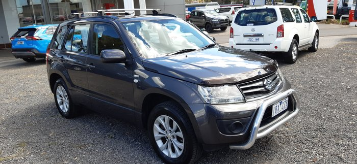 2014 Suzuki Grand Vitara (No Badge) JB 4X4 Dual Range GREY