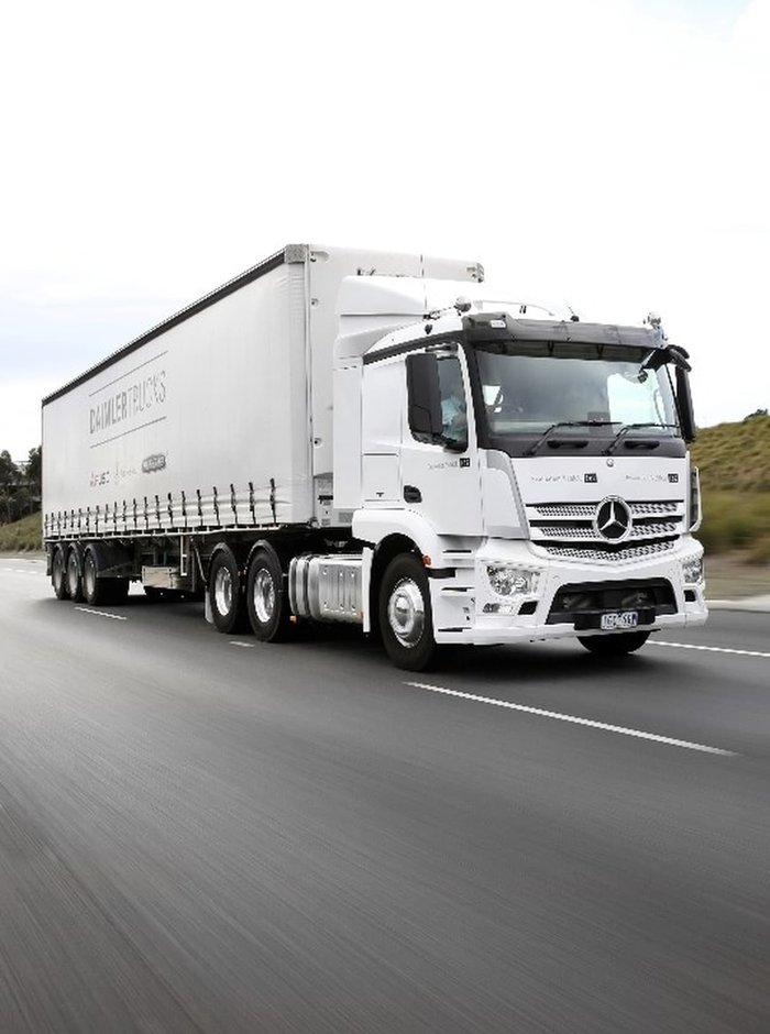 2020 MERCEDES-BENZ MY2020 ACTROS null null null