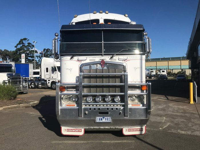 2008 KENWORTH K108 BIG CAB null null WHITE