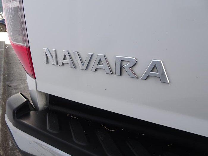 2018 Nissan Navara RX D23 Series 3 4X4 Dual Range White