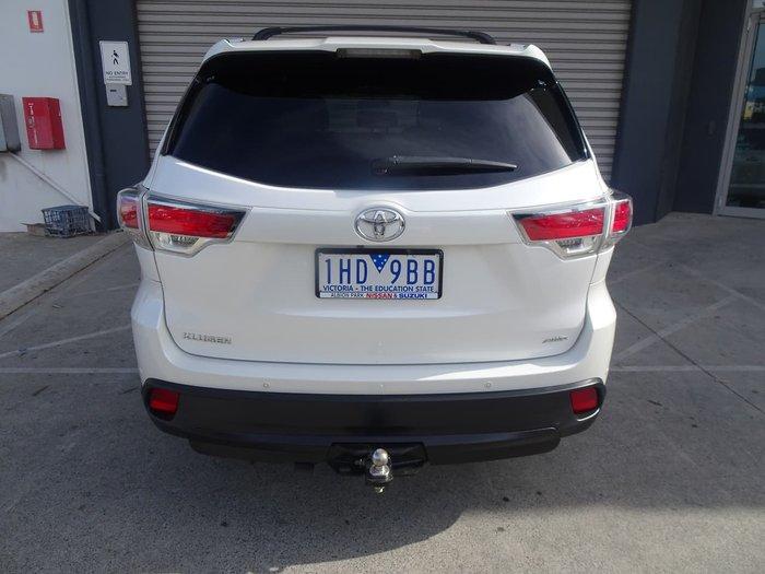2015 Toyota Kluger GXL GSU55R Four Wheel Drive White