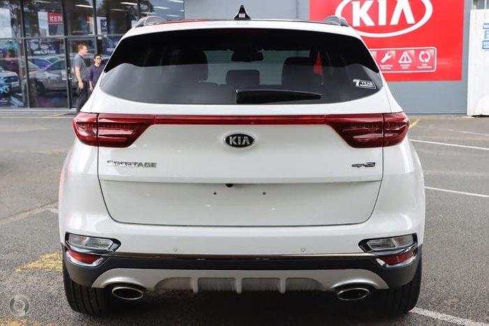 2020 Kia Sportage GT-Line QL MY20 4X4 On Demand White