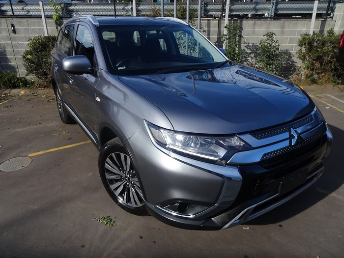 2019 Mitsubishi Outlander ES ZL MY19 4X4 On Demand Grey