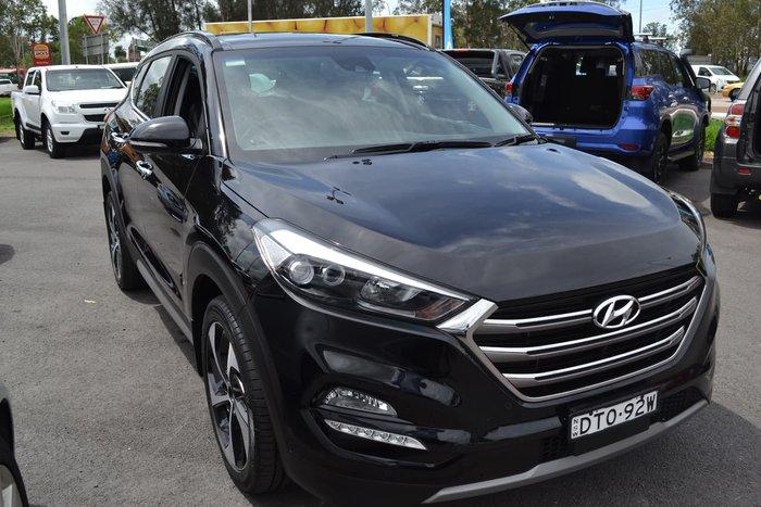 2017 Hyundai Tucson Highlander TLE2 MY18 4X4 On Demand Black