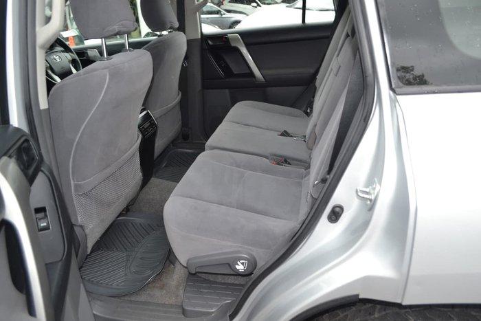 2010 Toyota Landcruiser Prado GXL KDJ150R 4X4 Constant Silver