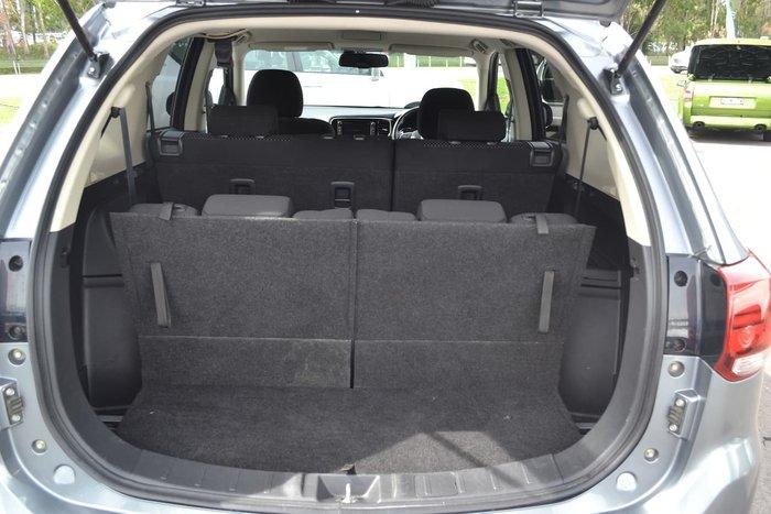 2015 Mitsubishi Outlander XLS ZK MY16 4X4 On Demand Grey