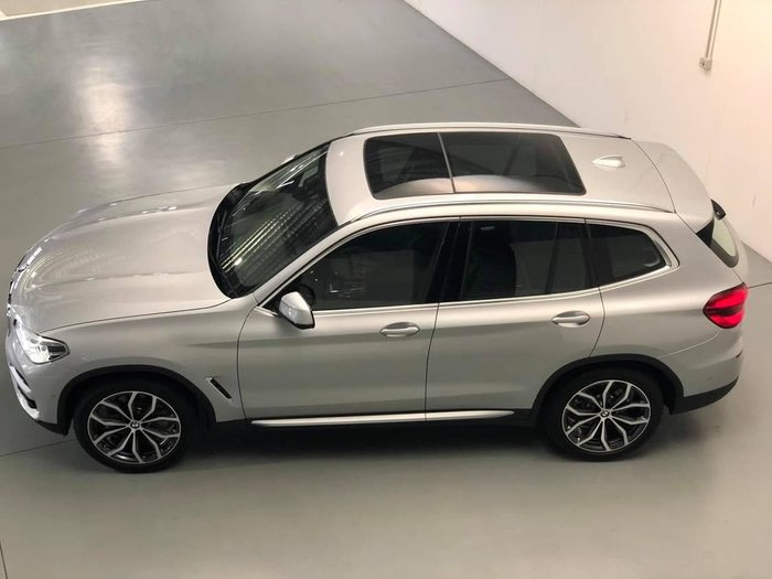 2019 BMW X3 xDrive30i G01 4X4 Constant Silver