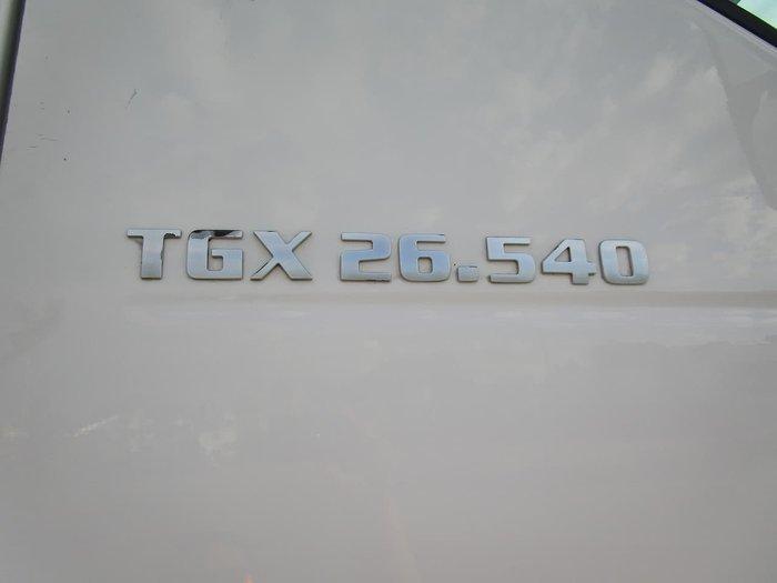 2015 MAN TGX540 null null WHITE