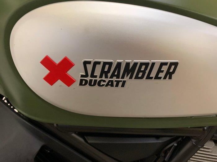 2015 DUCATI SCRAMBLER URBAN ENDURO Green
