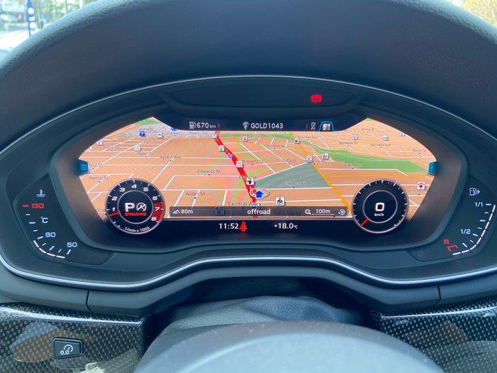 2017 Audi S5 F5 MY18 Four Wheel Drive Grey