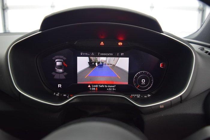 2015 Audi TTS FV MY16 Four Wheel Drive Red