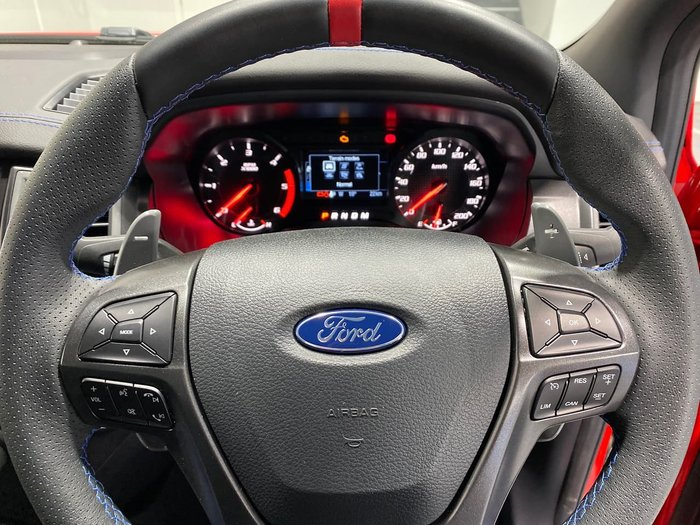 2019 Ford Ranger Raptor PX MkIII MY19.75 4X4 Dual Range Red